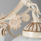 Petite Fleur, French Chandelier for Victorian and Mediterranean (close up)