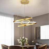 Modern LED Pendant Light Metal Silica gel Creative Dining Room Bedroom Decor from Singapore best online lighting shop horizon lights