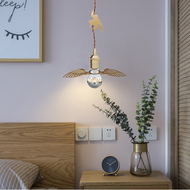 Modern LED Pendant Light Copper Retro Edison Bulb Wing Orangutan Decoration Bedroom from Singapore best online lighting shop horizon lights