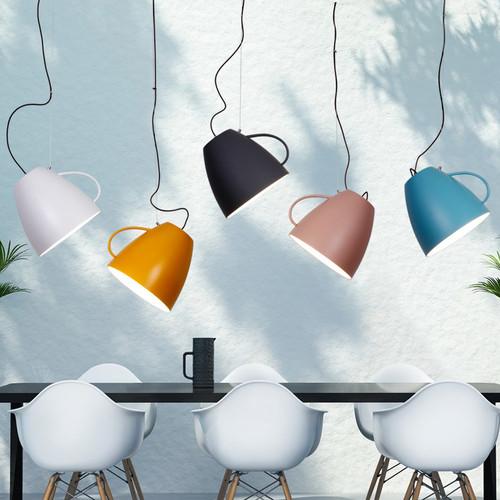 Modern LED Pendant Light Metal Cup Shape Creative Dining Room Restautrant from Singapore best online lighting shop horizon lights