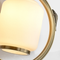 New Chinese Style LED Wall Light Glass Shade Copper Carp Decor Bedroom Living Room from Singapore best online lighting shop horizon lights