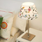French style LED Table Lamp Fabric Flowers Shade Metal Fancy Bedroom Decor from Singapore best online lighting shop horizon lights