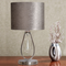 Modern LED Table Lamp Fabric Lampshade Metal Crystal Decoration Living Room Bedroom from Singapore best online lighting shop horizon lights