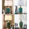 American Style LED Table Lamp Ceramic Body Fabric Shade Living Room Bedroom from Singapore best online lighting shop horizon lights