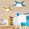 Modern LED Ceiling Light Resin Starfish Shape Glass Lampshade Metal Bedroom from Singapore best online lighting shop horizon lights