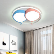 Modern LED Ceiling Light Metal Acrylic Balloon Pattern Children's Bedroom Kindergarten from Singapore best online lighting shop horizon lights