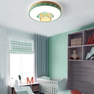 Modern LED Ceiling Light Metal Acrylic Round Shade Cartoon Pattern Children' Bedroom from Singapore best online lighting shop horizon lights