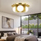 Modern LED Ceiling Light Copper Glass Ball Shade Creative Personality Bedroom Decor from Singapore best online lighting shop horizon lights