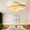 Modern LED Ceiling Light Wood Acrylic Circle Simple Bedroom Living Room from Singapore best online lighting shop horizon lights