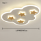 Modern LED Ceiling Light Acrylic Metal Cloud Wood Stars Pattern Kids Bedroom from Singapore best online lighting shop horizon lights