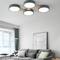 Modern LED Ceiling Light Metal Acrylic Wood Round Shape Bedroom Living Room from Singapore best online lighting shop horizon lights