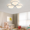 Modern LED Ceiling Light Metal Acrylic Petals Lampshade Bedroom Living Room from Singapore best online lighting shop horizon lights