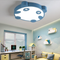 Modern LED Ceiling Light Acrylic Metal Panda Pattern Kids Bedroom Study Room from Singapore best online lighting shop horizon lights