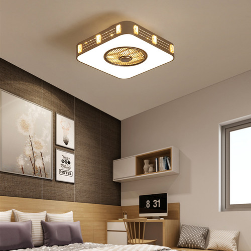 Modern LED Ceiling Light Metal Acrylic Fan Practical Creative Living Room Bedroom from Singapore best online lighting shop horizon lights
