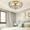 American LED Ceiling Light Copper Glass Joint Shade Bedroom Living Room from Singapore best online lighting shop horizon lights
