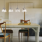 Modern LED Pendant Light K9 Crystal Maple Leaves Stainless steel Dining Room Bar from Singapore best online lighting shop horizon lights