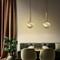 Modern LED Pendant Light Aluminum Glass Planet Creative Bar Dining Room from Singapore best online lighting shop horizon lights