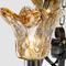 American Style LED Chandelier Light Glass Lampshade Metal Retro Loft Living Room from Singapore best online lighting shop horizon lights