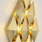 Post-modern LED Wall Light Metal Pyramid Unique Corridor Living Room Decor from Singapore best online lighting shop horizon lights