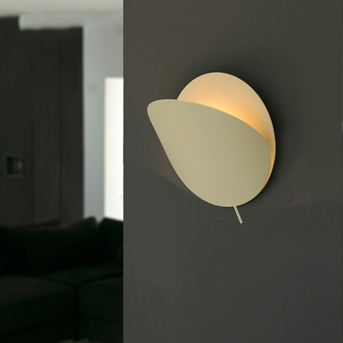 Modern LED Wall Light Metal Shell Piece Adjustable Bedroom Living Room Decor from Singapore best online lighting shop horizon lights