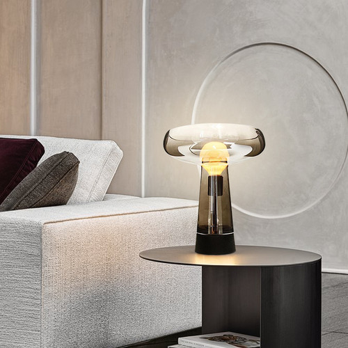 Modern LED Table Lamp Glass Body Creative Simple Bedroom Study Room from Singapore best online lighting shop horizon lights