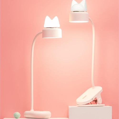 Modern LED Table Lamp 3PCS Acrylic Small Cat Shape Reading Protect Eyes Bedroom Study from Singapore best online lighting shop horizon lights