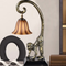 Industrial Retro Style LED Table Lamp Resin Monkey Glass Bell Shade Study Room Hallway from Singapore best online lighting shop horizon lights