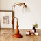American retro style LED Table Lamp Wood Glass Metal Simple Study Room Bedside Decor from Singapore best online lighting shop horizon lights