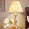 American LED Table Lamp Cloth Shade Copper Bedroom Living Room Decor from Singapore best online lighting shop horizon lights