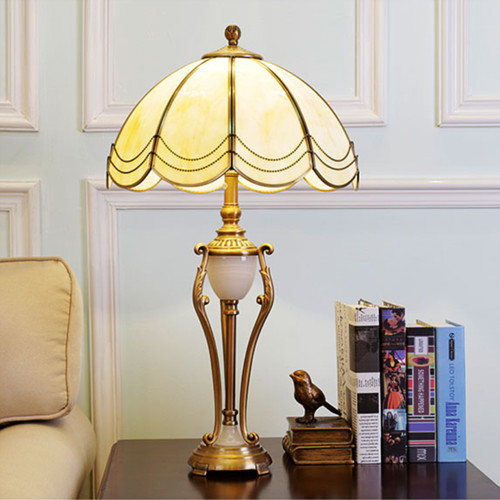 American country LED Table Lamp Metal Glass/Fabric Classical Exquisite Home Decor from Singapore best online lighting shop horizon lights