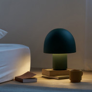Modern LED Table Lamp Metal Mushroom Shape Minimalism Bedroom Study Room from Singapore best online lighting shop horizon lights