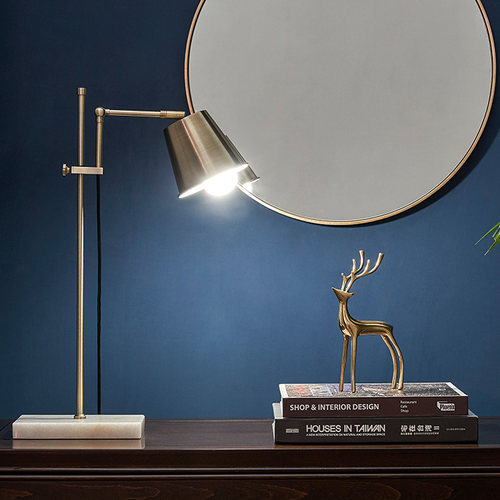 Industrial Style LED Table Lamp Metal Adjustable Height Minimalism Reading Lights from Singapore best online lighting shop horizon lights