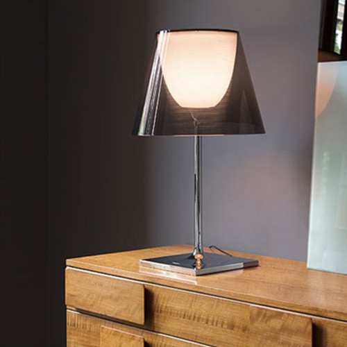Modern LED Table Lamp Metal Acrylic Simple Fashionable Bedroom Study Room from Singapore best online lighting shop horizon lights