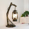 Industrial style LED Table Lamp Metal Glass Simple Retro Living Room Study Room from Singapore best online lighting shop horizon lights