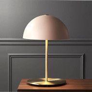 Modern LED Table Lamp Metal Round Creative Pink Study Room Living Room from Singapore best online lighting shop horizon lights