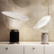 Post-modern LED Table Lamp Aluminium Glass Radar Shape Artistic Bedroom Living Room from Singapore best online lighting shop horizon lights