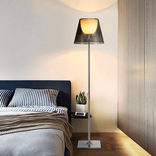 Modern LED Floor Lamp Metal PVC Minimalism Living Room Sofa Reading Light from Singapore best online lighting shop horizon lights