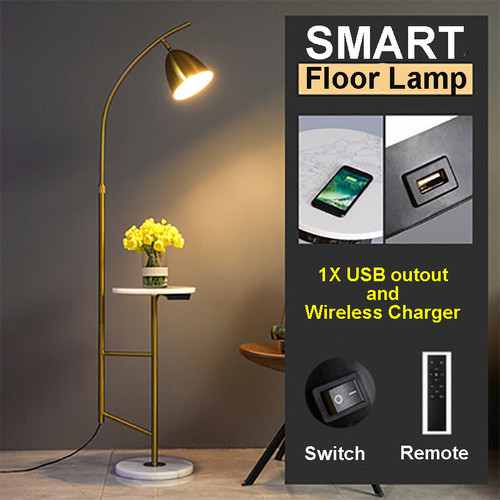 This is the front drawing. Burj Khalifa Light, E27 LED Floor Lamp with shelf for Minimalist and Art Deco (smart) from Singapore best online lighting shop for floor lamp, horizon lights