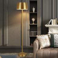 American style LED Floor Lamp Metal Coppery Minimalism Bedroom Living Room Decor from Singapore best online lighting shop horizon lights