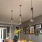 Post-modern LED Pendant Light Crystal Copper Pipe Shape Fancy Bar Dining Room from Singapore best online lighting shop horizon lights