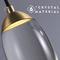 Modern LED Pendant Light Crystal Elliptical Shape Copper Bedroom Bar Decor from Singapore best online lighting shop horizon lights