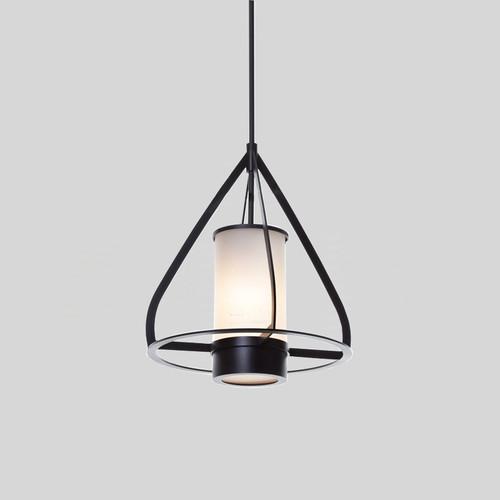 Modern Style LED Pendant Light Metal Frame Glass Shade Bedroom Dining Room Decor from Singapore best online lighting shop horizon lights