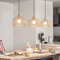 Modern LED Pendant Light Metal Frame Creative Dining Room Bar Restaurant from Singapore best online lighting shop horizon lights