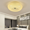 Modern LED Ceiling Light Round Glass Lampshade Scale Pattern Hallway Corridor from Singapore best online lighting shop horizon lights