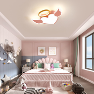 Modern LED Ceiling Light Metal Heart Shape Acrylic Creative Children Bedroom from Singapore best online lighting shop horizon lights