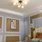 Modern LED Ceiling Light Glass Lampshade Metal Copper Bedroom Living Room Decor from Singapore best online lighting shop horizon lights