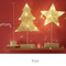 Cotton String Christmas Lollipop plastic Decorative Table Lamp as Christmas blessings (2 light with wall)