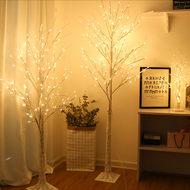 Modern LED Floor Lamp Plastic Tree Shape 3 Sizes Livivng Room Hallway Decor from Singapore best online lighting shop horizon lights