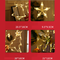 Christmas reindeer LED fairy lights for Christmas Party Decorations (hanging 4picture)