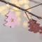 Merry Christmas Tree string LED Fairy Lights with Christmas Blessings (on branch)